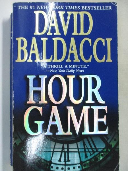 【書寶二手書T2/原文小說_HU4】Hour Game_David Baldacci