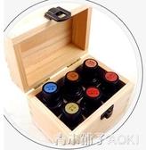 多家美樂家芙天然鬆木6格精油收納木盒 精油展示盒 青木鋪子