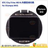 @3C 柑仔店@ STC Clip Filter ND16 內置型 減光鏡 for Olympus M43 公司貨