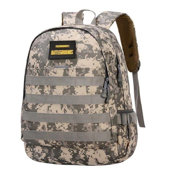 絕地求生吃雞三級包 小學生旅行雙肩包 背包男童男孩迷彩書包 3C優購
