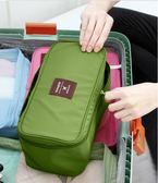 文胸收納包家用大容量襪子布藝整理袋旅行便攜防水內褲內衣收納盒HRYC 生日禮物