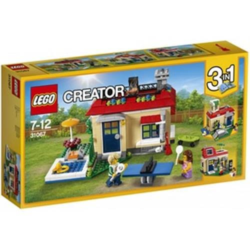 LEGO 樂高 Creator Modular Poolside Holiday 31067 (356 Piece)