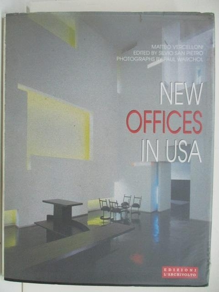 【書寶二手書T1/建築_DQZ】New Offices In USA