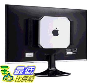HIDEit MiniU安裝座- 獲得專利的Mac Mini壁掛式安裝 [美國代購]