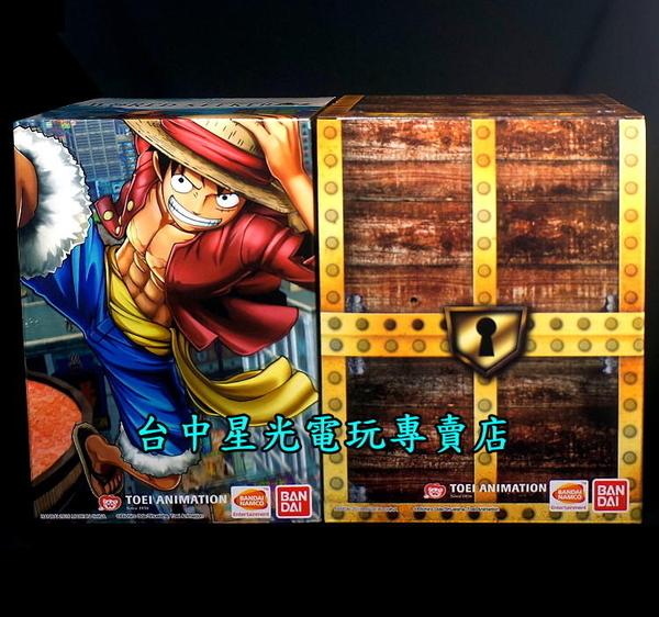 【航海王】海賊無雙 4檔魯夫 海道 LED對決場景+尋秘世界 魯夫+惡魔果實 模型【台中星光電玩】