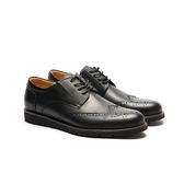Waltz-簡單雕花休閒紳士鞋 514057-02黑