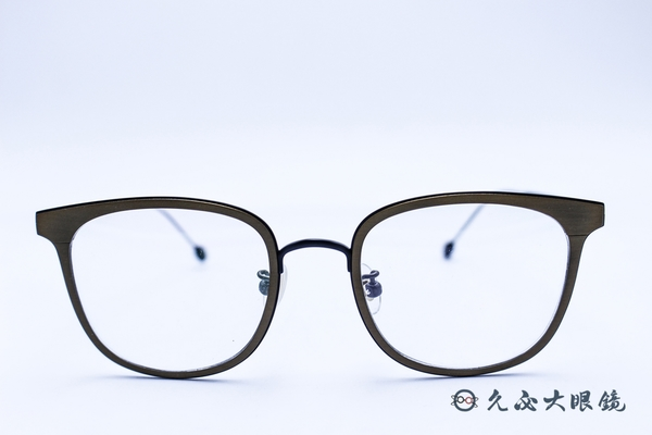 Kaffeine 咖啡因 Affogato C3 (鐵灰/黑) 韓國設計 經典框型 近視眼鏡