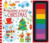 Fingerprint Activities:Christmas 指印玩樂遊戲書:聖誕節篇