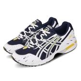 Asics 慢跑鞋 Gel-1090 白 藍 Tiger 男鞋 運動鞋 老爹鞋 【PUMP306】 1021A275400