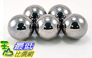 [106美國直購] Five Large 1-1/2 Inch Monkey Fist Steel Ball Bearing Tactical Cores Balls (Pack of 5)