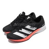 adidas 慢跑鞋 Adizero RC 2 W 黑 白 女鞋 運動鞋 【ACS】 EE4340