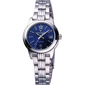 Valentino 范倫鐵諾 輝煌年代經典女錶-寶藍 SL5107S藍-寶藍