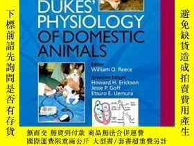 二手書博民逛書店Dukes 罕見Physiology Of Domestic AnimalsY307751 William O