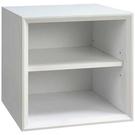 【藝匠】魔術方塊白色大棚板櫃收納櫃 家具 組合櫃 廚具 收藏 置物櫃 櫃子 小櫃子