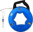 Aewio【日本代購】電線拉線器 穿線器管路拉線30m - 藍色