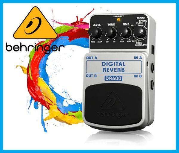 【小麥老師 樂器館】BEHRINGER DIGITAL REVERB DR600 耳朵牌 單顆 效果器