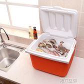行動冰箱 2-8度戶外小號便攜式獸用/醫用疫苗冷藏箱13L升 冷鍊運輸保溫冰箱 igo 第六空間