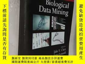 二手書博民逛書店Biological罕見Data Mining (chapman & Hall crc Data Mining A