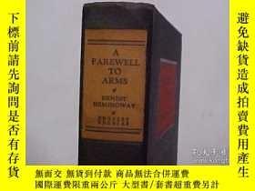 二手書博民逛書店【包罕見】A Farewell to Arms,《戰地春夢》,1
