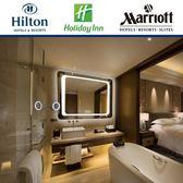 Kiva智能浴室鏡帶燈防霧衛浴鏡衛生間壁掛洗手間魔鏡無框led鏡子