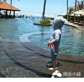 兒童泳衣女寶寶嬰兒女童游泳衣連體女孩可愛小公主韓國溫泉泳裝