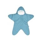 BabyBites 西班牙鯊魚咬一口 嬰兒包巾睡袋(標準版)小海星-寶石綠[衛立兒生活館]