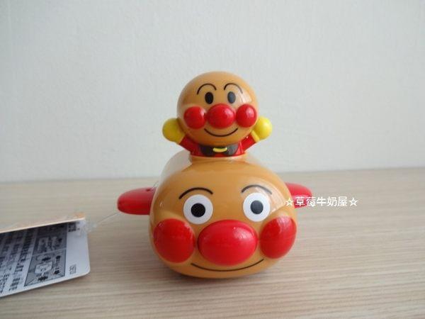 ☆草莓牛奶屋☆日本進口【Anpanman麵包超人】可愛迴力車玩具
