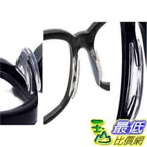 [玉山最低比價網] 2.5mm 1對2片 柔軟矽膠墊高鼻墊 增高鼻貼 眼鏡防滑鼻 L size ( F118)
