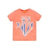 mothercare 橘SUPER短袖上衣 -快樂天地(M0PB061)18M