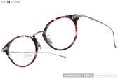 NINE ACCORD 光學眼鏡 UNION UR C05 (紫琥珀-銀) β鈦金屬系列簡約款 # 金橘眼鏡