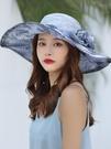 防曬帽女夏季遮陽帽子