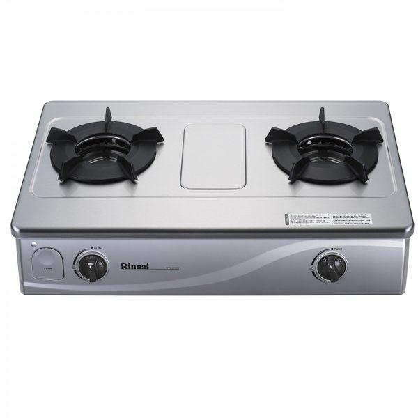 【歐雅系統家具廚具】林內 Rinnai RTS-201SN 內焰二口瓦斯爐