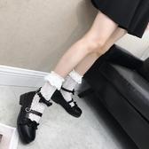 Lolita鞋 公主蘿莉鞋軟妹女學生可愛鞋子日系漫展原創茶會鞋 - 雙十二交換禮物