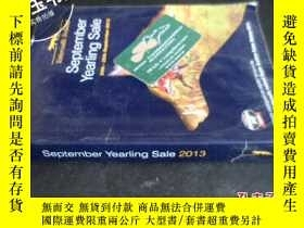 二手書博民逛書店September罕見Yearling Sale 2013591