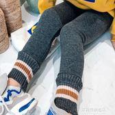 女童保暖褲童裝秋冬裝新款兒童加絨加厚打底褲女童寶寶百搭棉褲保暖褲多莉絲旗艦店