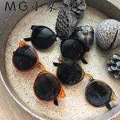 太陽眼鏡  韓版復古原宿墨鏡太陽眼鏡