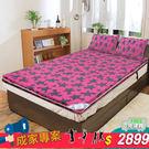 床 床墊 雙人床墊 記憶床墊 珊瑚絨 8...