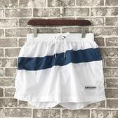 雙十一狂歡購 男士沙灘褲 多功能休閒運動游泳海邊寬鬆簡約三分褲 速干短褲