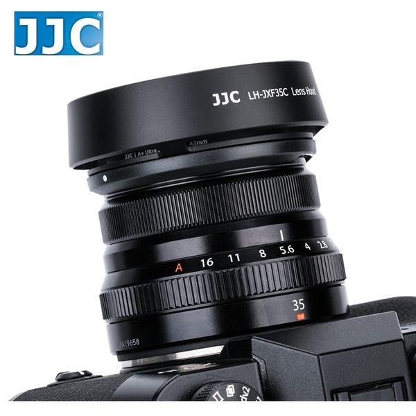 又敗家@JJC Fujifilm副廠富士遮光罩LH-XF35II遮光罩XF 23mm 35mm 1:2.0 R WR太陽罩F/2.0遮陽罩lens遮罩F2.0