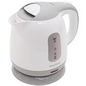 【日本代購】HIRO·CORPORATION 電水壺 1.0升 小巧 灰色 KTK-300-G