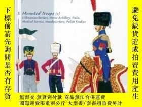 二手書博民逛書店The罕見Imperial Guard of the First Empire. Volume 3 Mounted