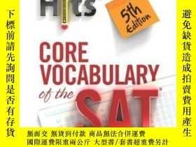 二手書博民逛書店Direct罕見Hits Core Vocabulary Of The Sat 5th EditionY255