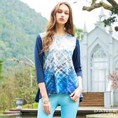 【岱妮蠶絲】未來流行七分袖傘狀蠶絲上衣