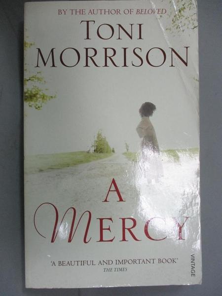 【書寶二手書T1/原文小說_JDQ】A Mercy_Toni Morrison