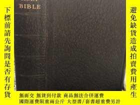 二手書博民逛書店1911年罕見THE HOLY BIBLE CONTAINING THE OLD AND NEW TESTMENT