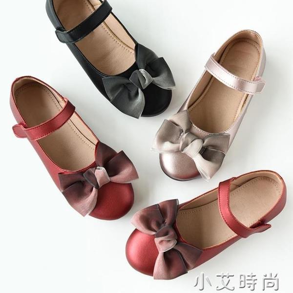 軟QQ的公主鞋 女童軟底豆豆鞋 兒童單鞋鞋子中大童 春款 小艾新品