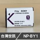SONY NPBY1 NP-BY1 台灣世訊 日製電芯 副廠鋰電池 HDR-AZ1 (一年保固)