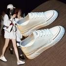 內增高小白鞋女2021新款女鞋春季百搭厚底休閑板鞋夏季薄款單鞋夏 快速出貨