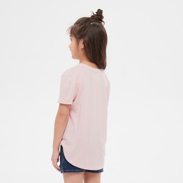 Gap女童 Gap x Disney 迪士尼系列亮片短袖T恤 552622-淡粉色