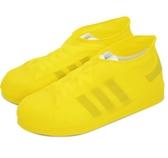 防雨鞋套 戶外乳膠沙漠防沙旅行防雨天防水鞋套男女兒童腳套雨鞋套【快速出貨八折鉅惠】